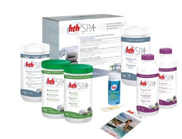 HTH SPA Kit traitement au brome